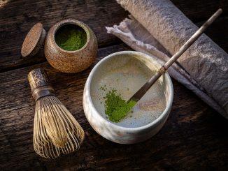 מאצ'ה מעלי תה ירוק