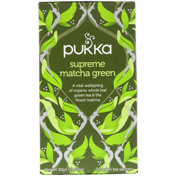 שקיות תה מאצ'ה Supreme Matcha Green